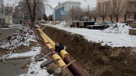 Ремонт системы водоснабжения на ул.Алма-Атинской завершен